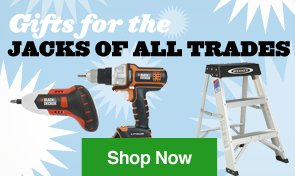Gifts for the Jacks of all Trades. Shop Now.