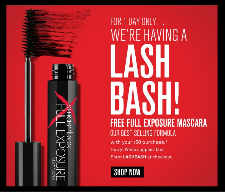 1 Day Only! Lash Bash