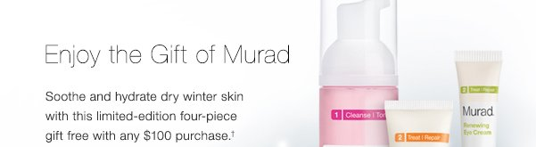 Enjoy the Gift of Murad