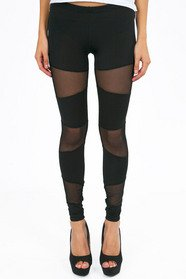 Meshing Around Leggings