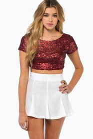 Dazzled Crop Top