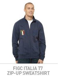 FIGC Italia T7 Zip-Up Sweatshirt