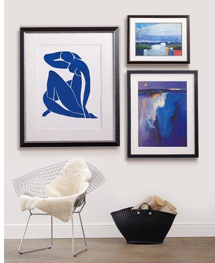 Noon Landscape By: Nicolas De Staël; Violet Horizon By: Peter Wileman; Nu Bleu I c1952 By: Henri Matisse