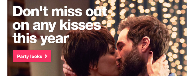Don't miss out on any kisses this year