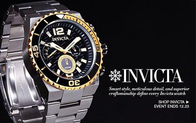 Shop Invicta Watches - Men