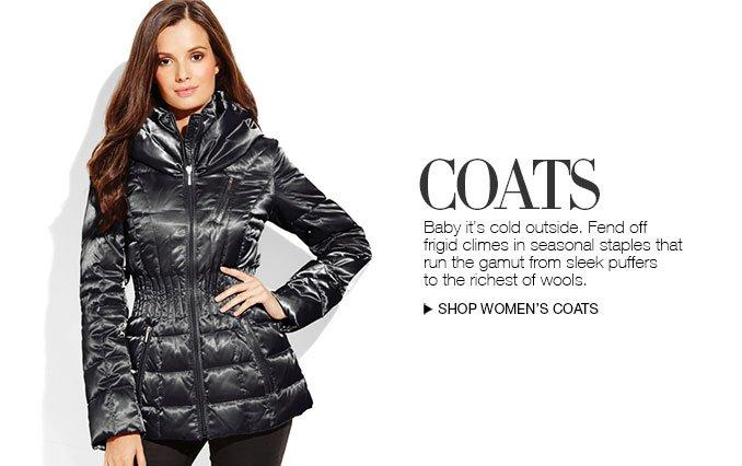 Shop Coats for Women