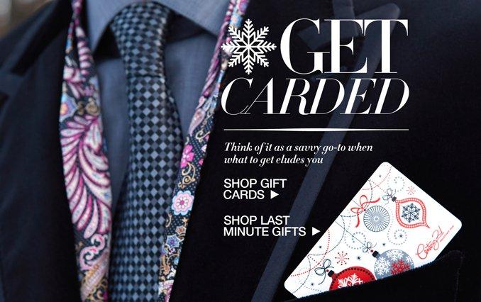 Shop Gift Cards for Men