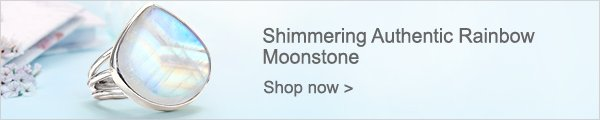 Shimmering Authentic Rainbow Moonstone