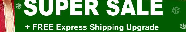 FINAL PRE-CHRISTMAS SUPER SALE + FREE Express Shipping Upgrade + Super Deep Discount Coupon
