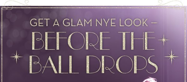 Get a Glam NYE Look