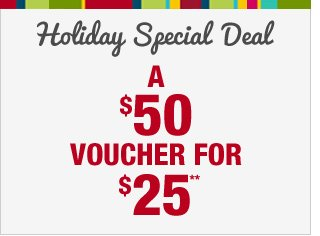Holiday Special Deal