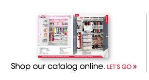 Shop our elfa Catalog
