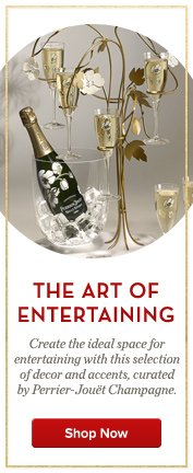Perrier-Jouet: The Art of Entertaining
