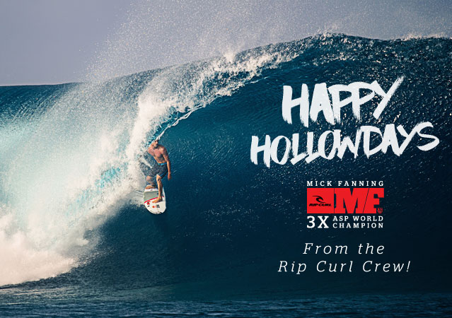 Happy Hollow Days! From The Rip Curl Crew!
