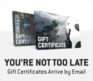 Gift Certificates Arrive by Email