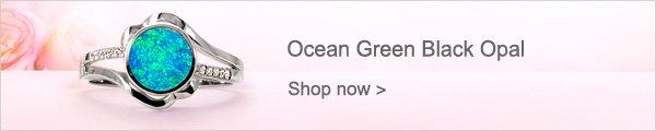 Ocean Green Black Opal