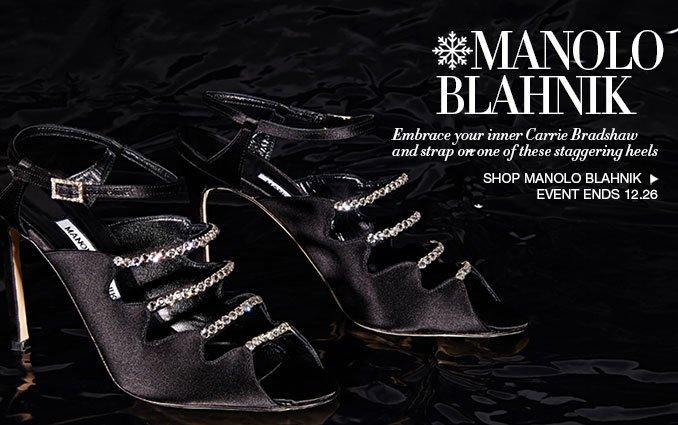 Shop Manolo Blahnik Shoes - Ladies