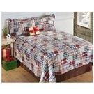 CastleCreek® Grandpa's Plaid Quilt and Sham Set