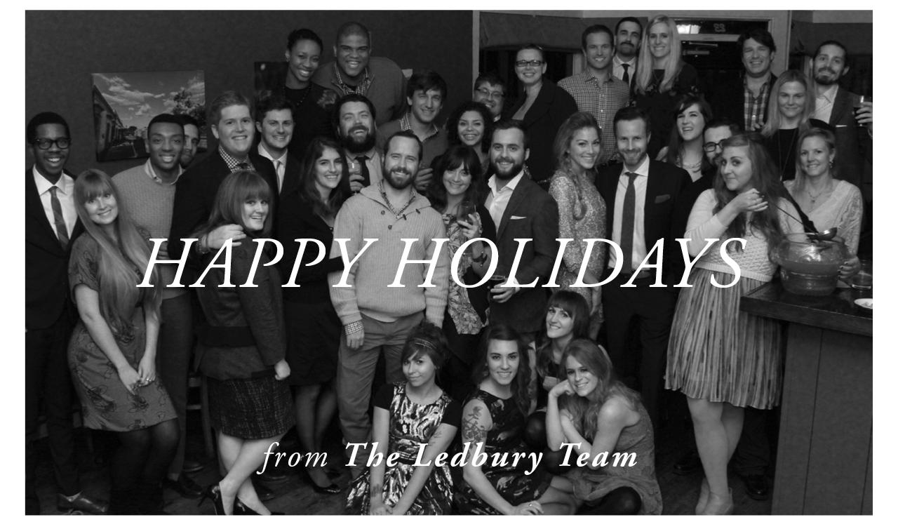 Happy Holidays from the Ledbury Team
