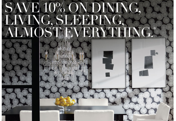 save 10-15% on everythings