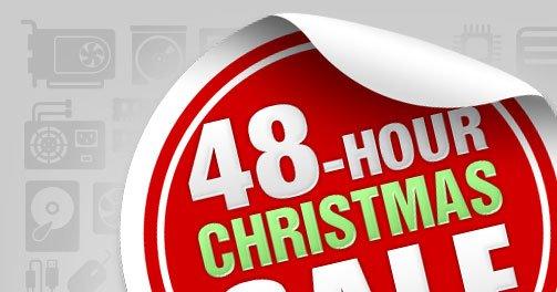 48-HOUR CHRISTMAS SALE