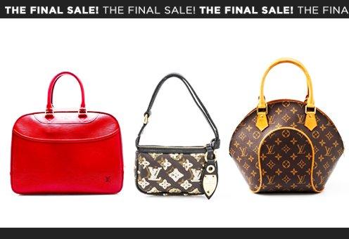 The Final Sale! Louis Vuitton