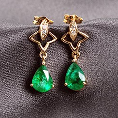 Yellow Gold Jewelry Clearance: Earrings & Rings