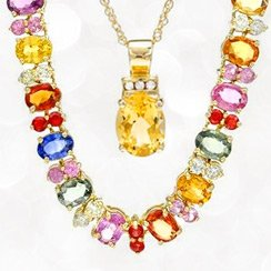 Yellow Gold Jewelry Clearance: Necklaces & Blacelets