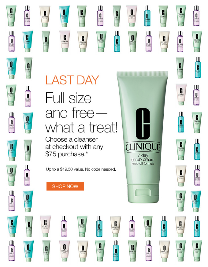 Last Day! Full size and free—what a treat!