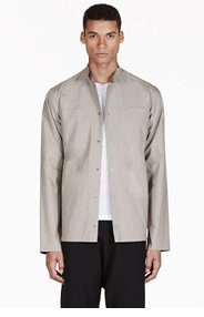ADIDAS BY TOM DIXON Grey Reversible Water Resistant Jacket for men