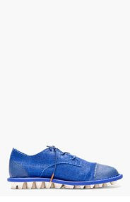 ADIDAS BY TOM DIXON Royal Blue Canvas Minimalist Travelers Shoes for men