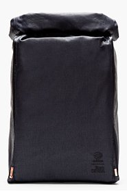 ADIDAS BY TOM DIXON Navy convertible Tom Dixon edition PACKABLE BACKPACK for men