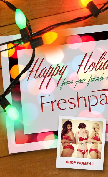 Happy Holidays From The Freshpair Team!