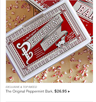 EXCLUSIVE & TOP-RATED - The Original Peppermint Bark, $26.95
