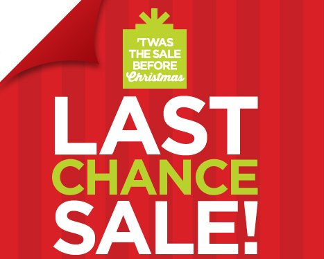 'TWAS THE SALE BEFORE Christmas | LAST CHANCE SALE!