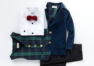 Up to 80% Off: Boys' Party Outfits