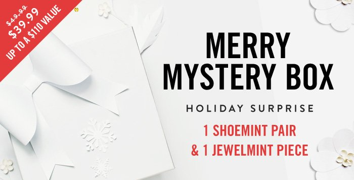 Merry Mystery Box Holiday Surprise