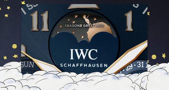 IWC SCHAFFHAUSEN WISHES A FESTIVE HOLIDAY SEASON