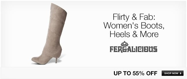 Flirty and Fab: Womens Boots, Heels and More