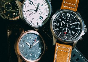 Shop Timeless: Leather Watches from $39