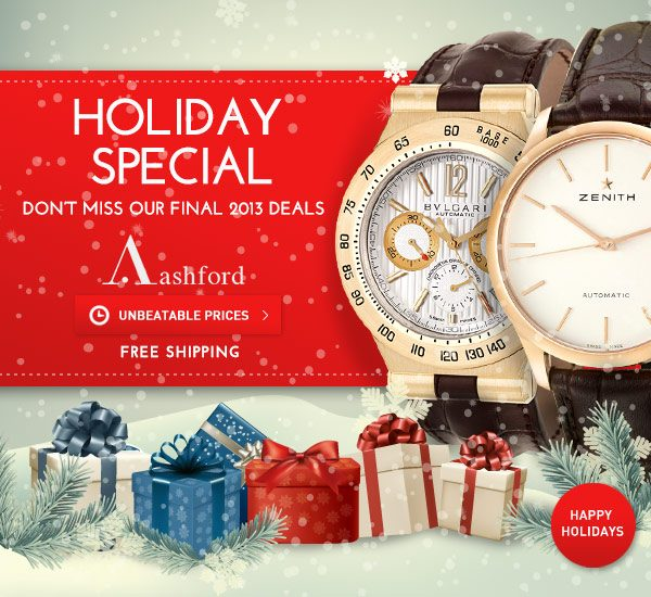 Celebrate Your Holiday with Ashford.com!