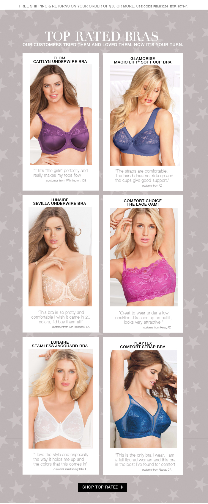 Shop our Top Selling Bras