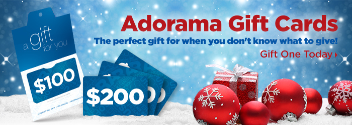 Adorama Gift Cards!