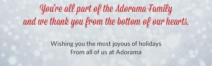 Adorama - Happy Holidays!