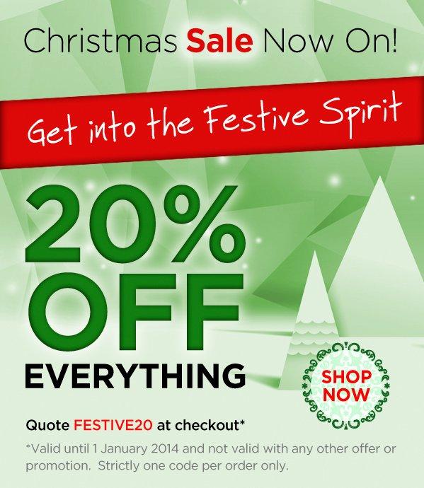 Christmas Sale Now On!