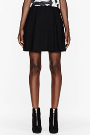 PROENZA SCHOULER Black Pleated Skirt for women