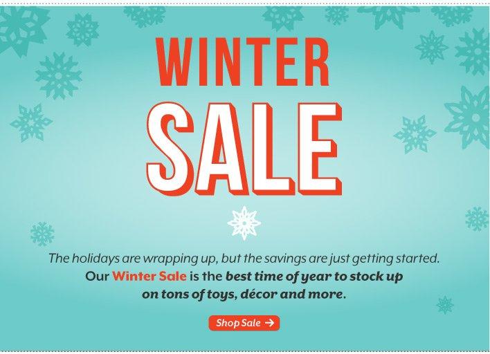 Winter Sale begins.