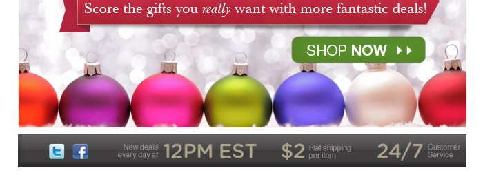 Did Santa miss something? Score the gifts you really want with more fantastic deals! Shop now!