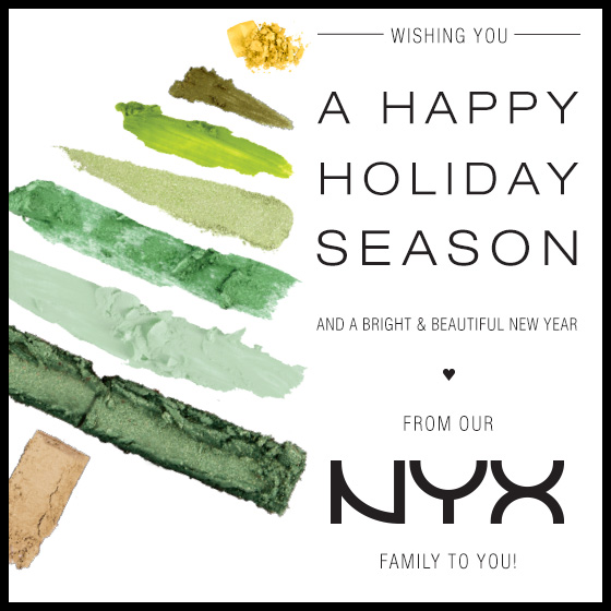 Happy Holidays From Our NYX Family To You!