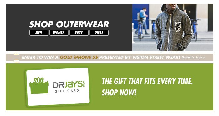 Shop DrJays.com Take 50% Off The Christmas Shop With Promo Code.